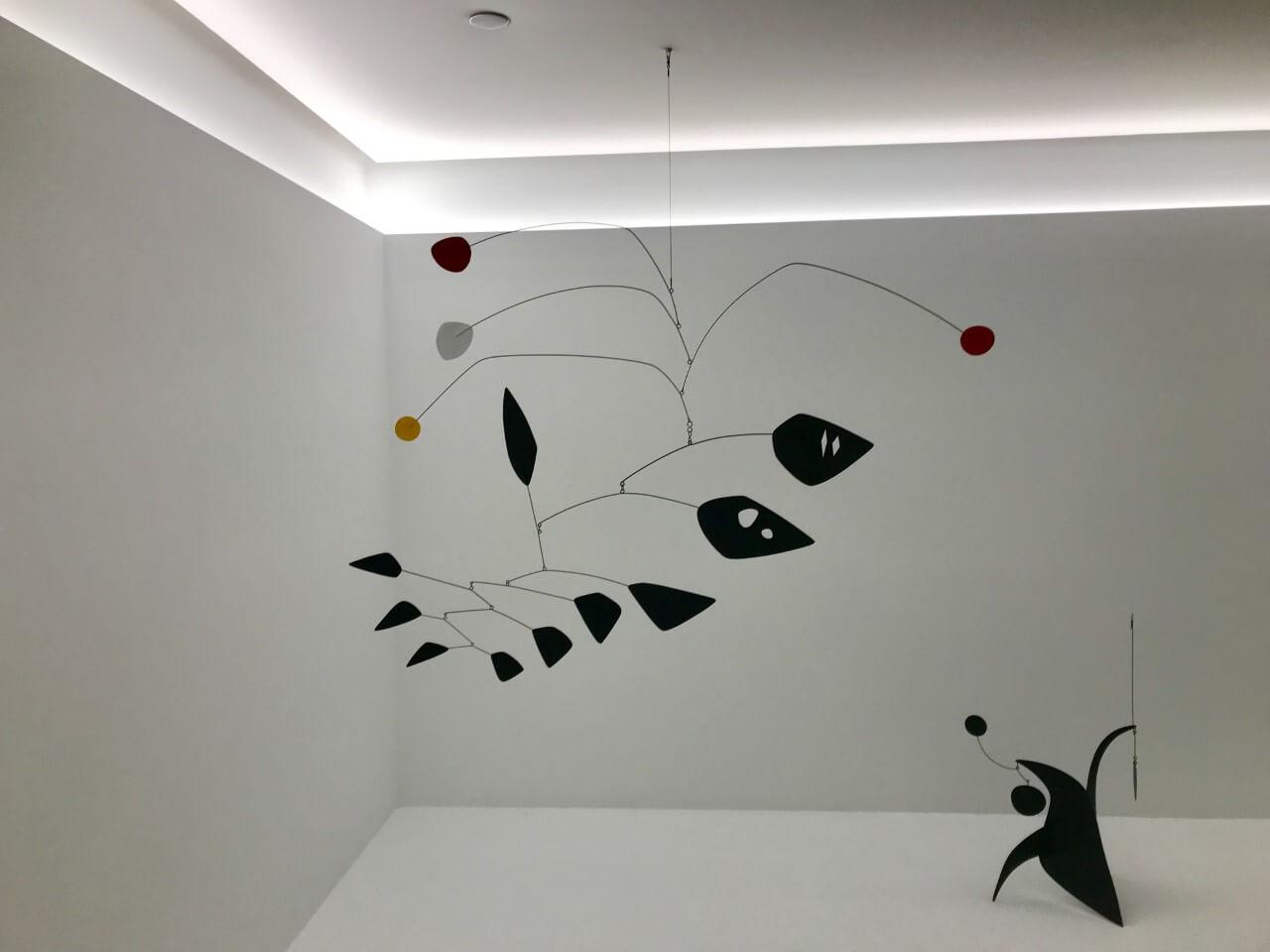Sculpture by Alexander Calder at Hauswer & Wirth Los Angeles