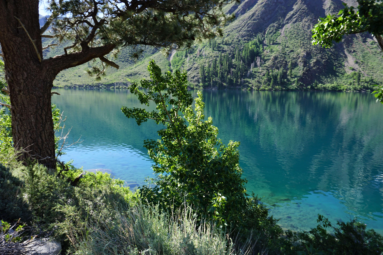 Convict Lake Trail near Mammoth Lakes
