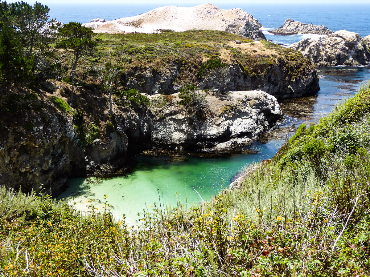 China Cove in Point Lobos State Reserve