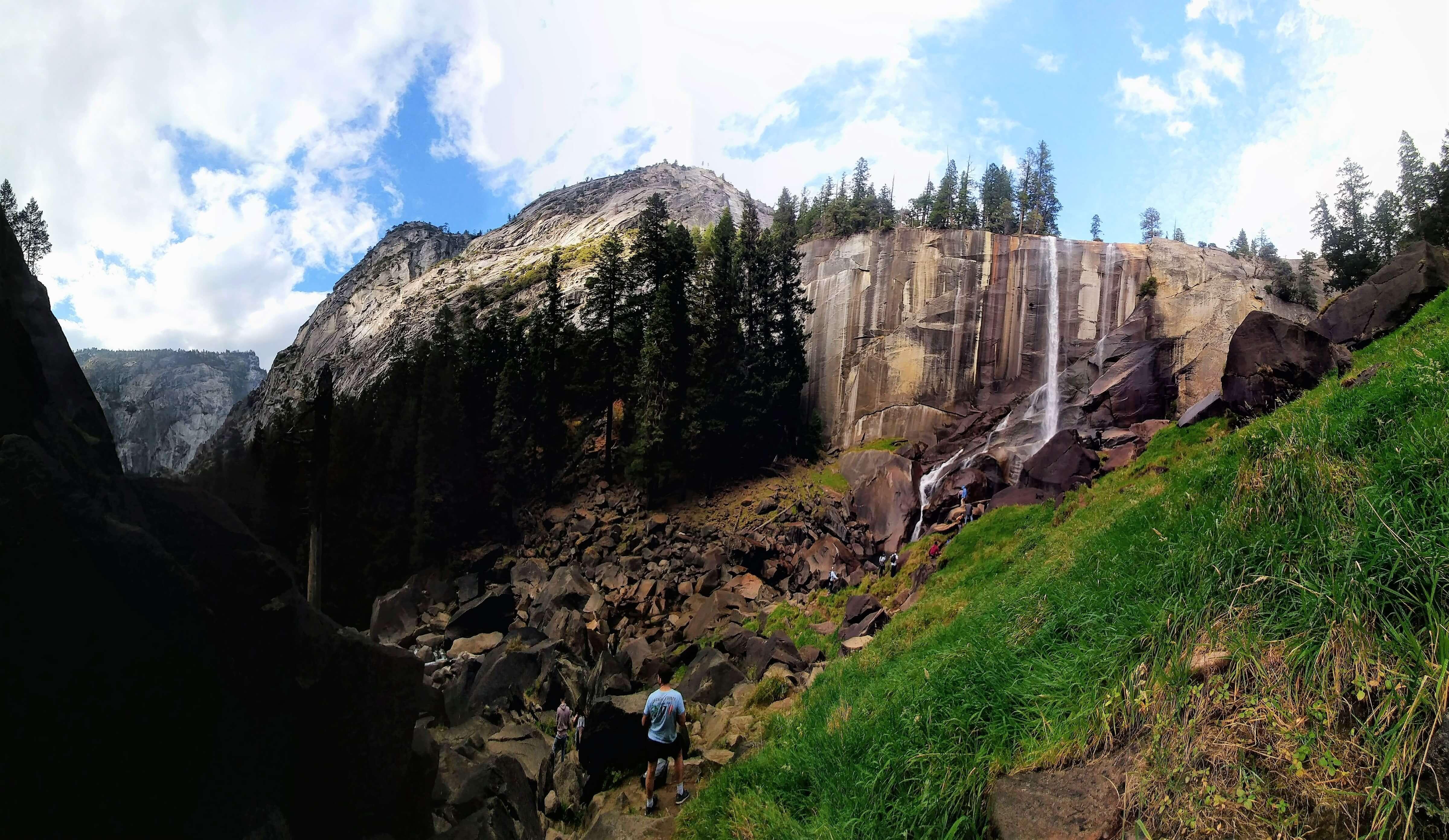 Vernal Falls and Nevada Fall Trail, Yosemite National Park