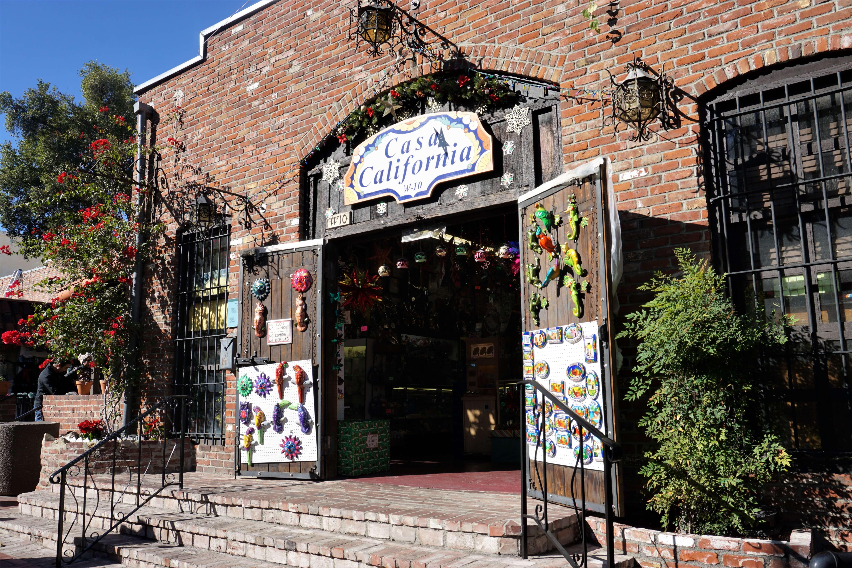 Storefront in Olvera Street